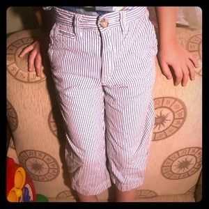 "💙 NWOT Striped ""Baby Gap""  Sailor Trousers 💙3️⃣T"